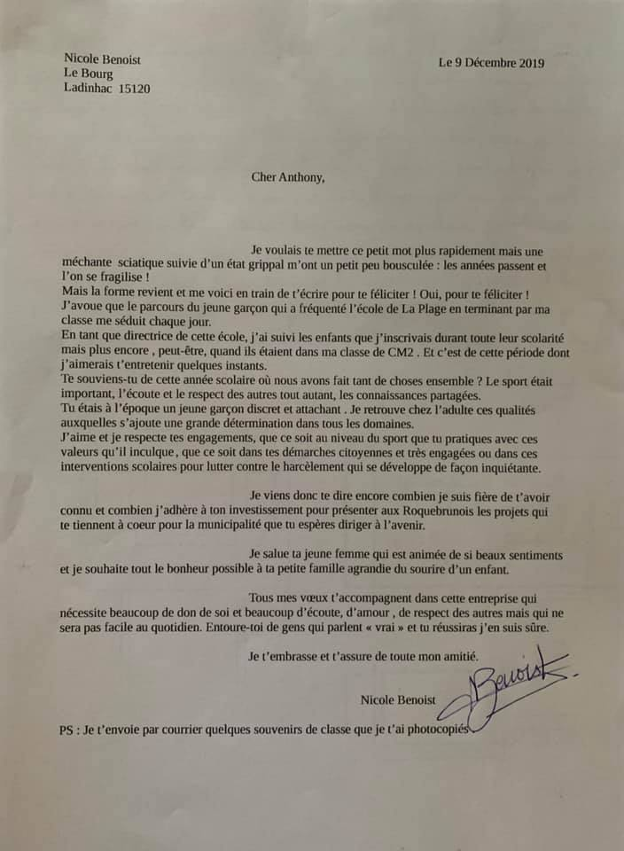 lettre directrice